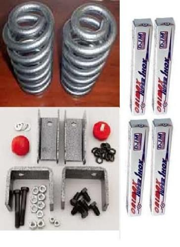 DJM 3 5 Drop Lowering kit Chevy GMC C10 73 87 w/ Shocks