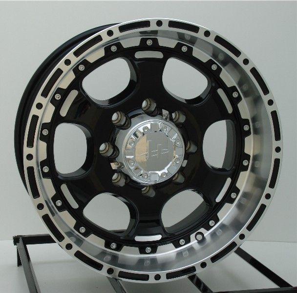 17 inch Black Wheels/Rims Ford F250 F350 Truck 8 Lug