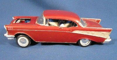 Vintage Built Up 57 Chevy AMT Model Car Kit