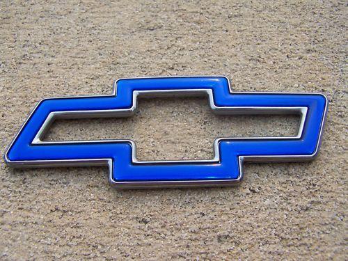 OEM Factory Genuine Stock Chevy Chevrolet bowtie emblem badge decal