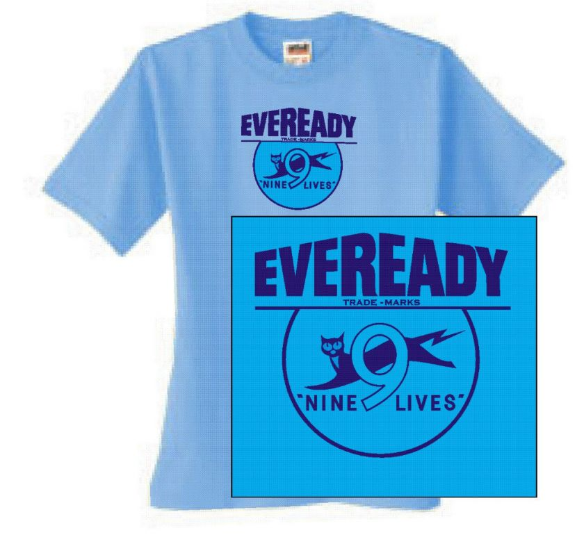 Eveready T shirt retro 80s vintage cool punk