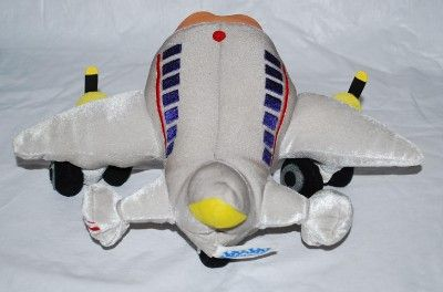 Jay Jay the Jet Plane Stuffed Plush Plane Airplane Toy 9 Sings