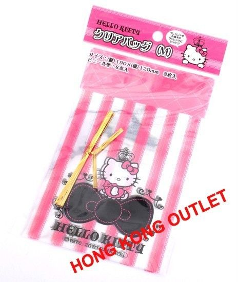 Hello Kitty Cookie Gift Bag 8pcs Sanrio H6c