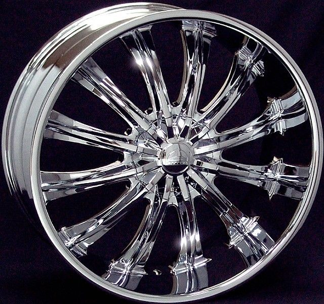 28 inch B15 chrome wheels Chevy Silverado GMC Sierra