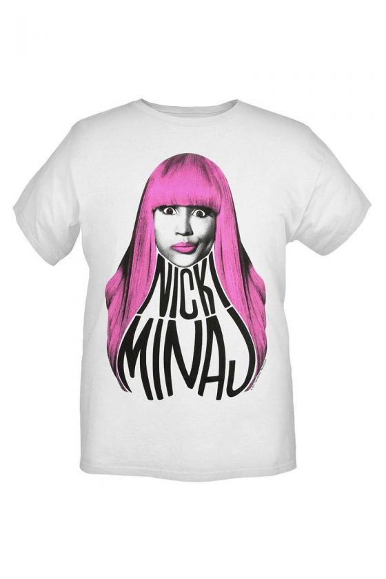 Nicki Minaj Pink Hair Slim Fit T Shirt 3XL